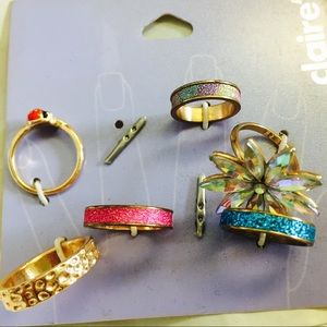 NEW! Claire's Ring Bundle